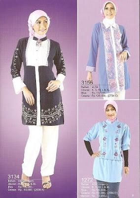 Model Desain Baju Busana Muslim Gaul Trendy Remaja Krumpuls