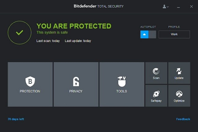 Download Bitdefender Internet Security 2015 Free for 180 Days