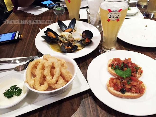 sauteed clam & mussel fried mozarella stick o' galito pavilion kl