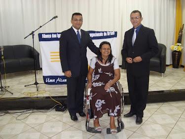 Um exemplo de vida - Conheça a história da Missª Ilene Pereira.