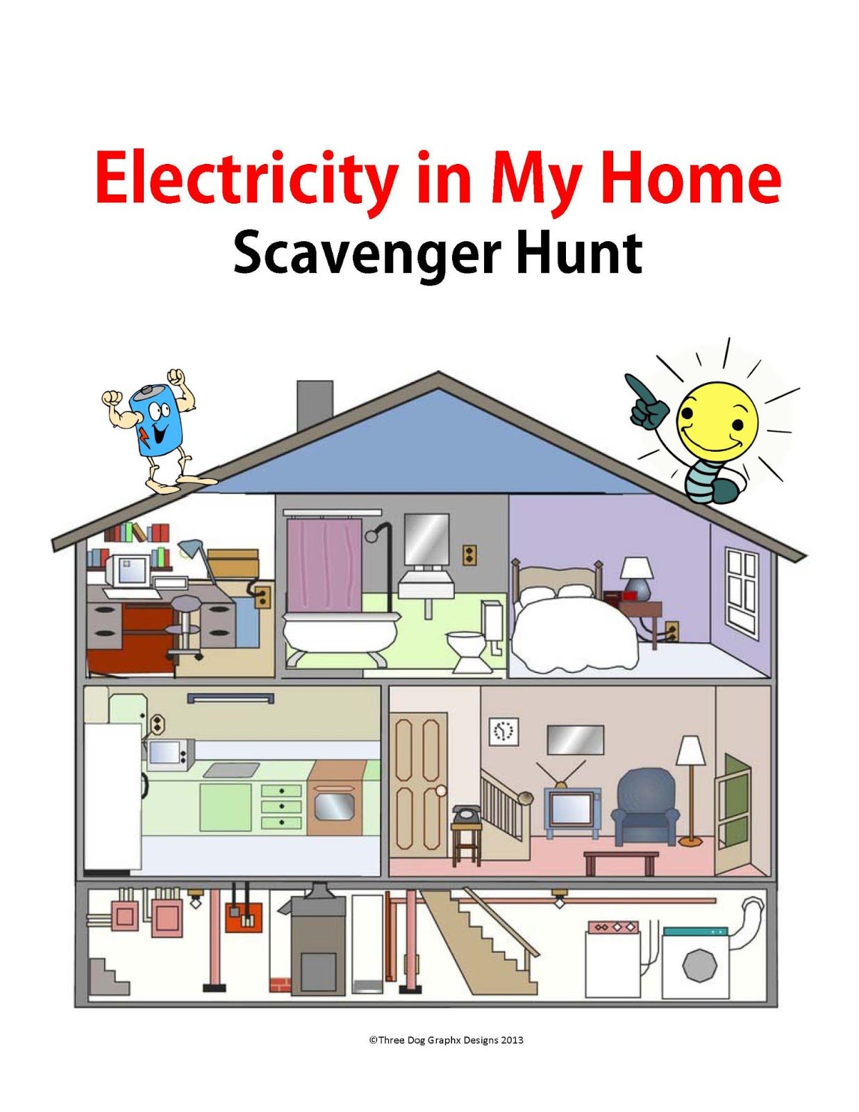Trail 4 success blog electricity scavenger hunt science for My home builders