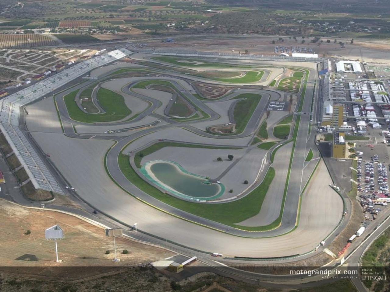 Circuito Cheste : Campeonato del mundo de motociclismo el circuito de cheste