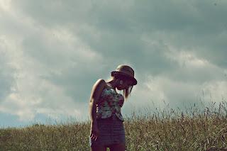 Na kopci s korzetom :)
