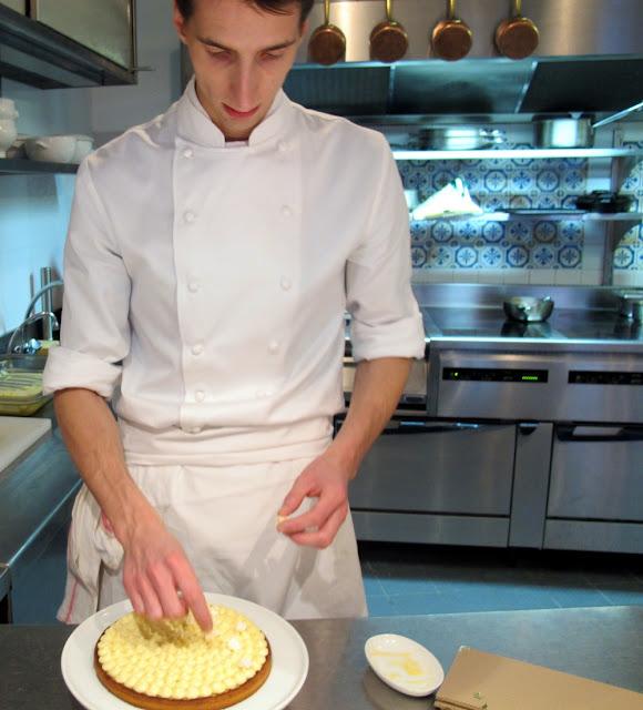 L'Auberge du 15 - la tarte au citron meringuée