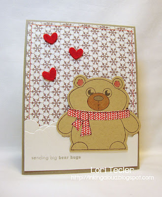 Sending Big Bear Hugs-designed by Lori Tecler-Inking Aloud-stamps and dies from Clear and Simple Stamps