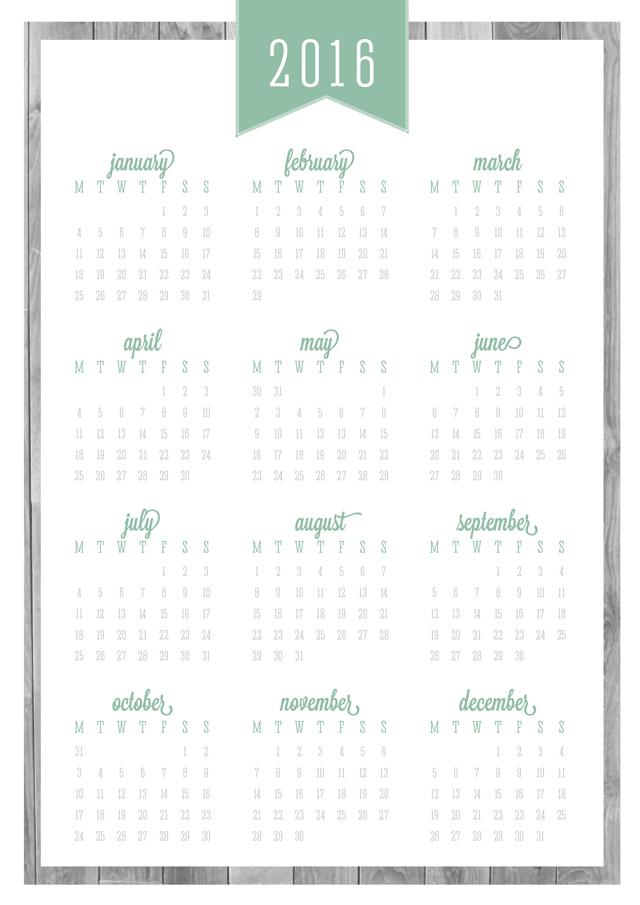 Weekly Calendar Update : Free printable updated calendars covers eliza ellis
