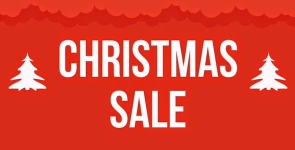 Christmas Sale Marketing Template
