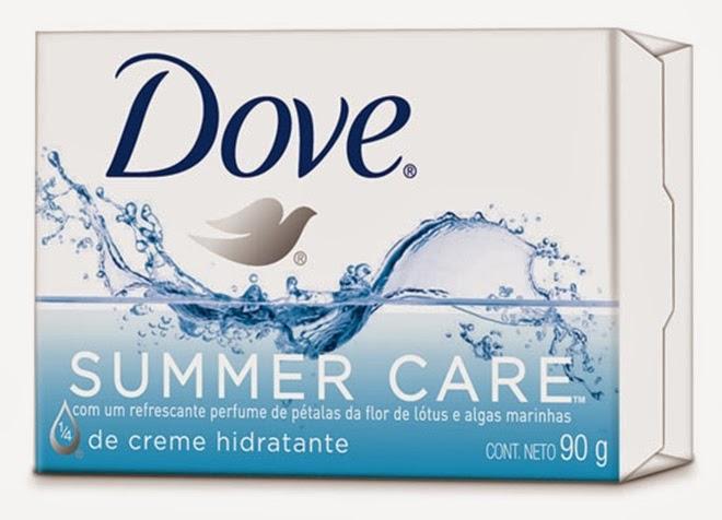 lançamento dove summer care dove unilever