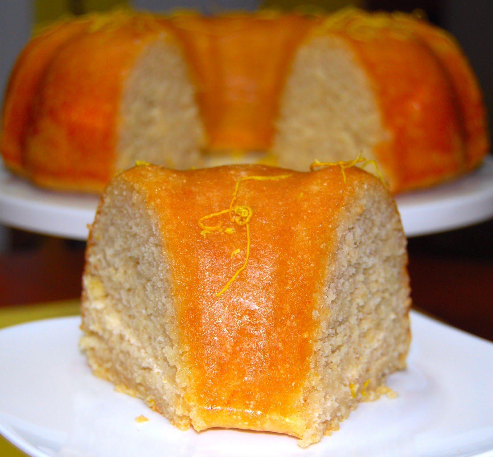 plump, golden Lemon Poppy Seed Bundt Cake with a Lemon Glaze is what ...