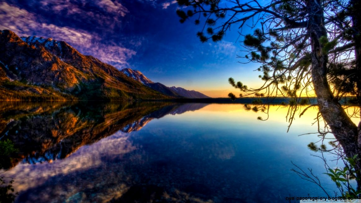 Beautiful Lake HD desktop wallpaper  High Definition  Fullscreen