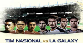 Tim Nasional Vs LA Galaxy AS