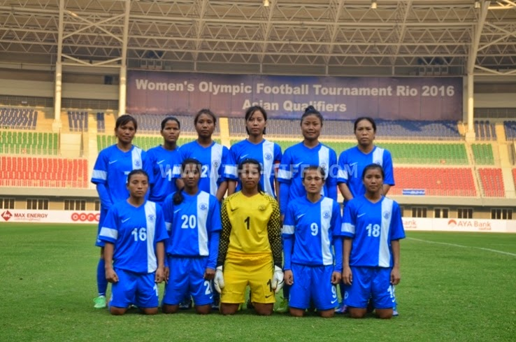 Indian Womens Team thrashed by Myanmar