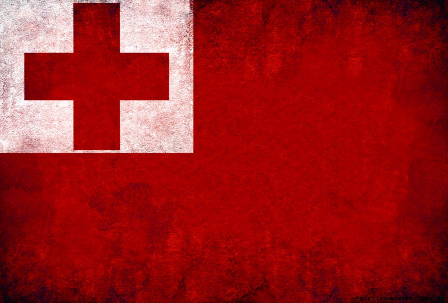 Tonga Countries Flag Wallpaper