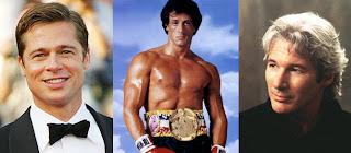 Brad Pitt, Sylvester Stallone e Richard Gere
