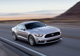 2015 Ford Mustang GT silver