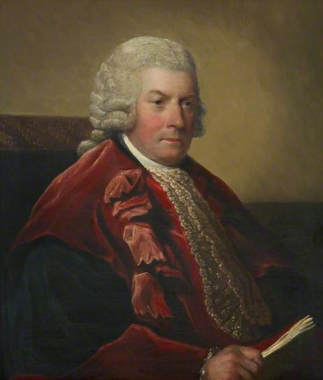 Sir Ilay Campbell, Lord President of the Court of Session by David Martin