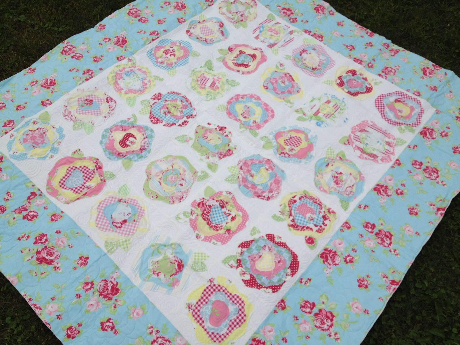 Spun Sugar Quilts: French Roses