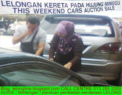 Cars Auction / Kereta Lelong - everyone can buy