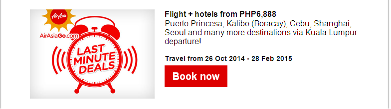 Air Asia: Rockin' Piso Php1 Sale!