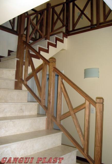 Mueblesrusticoscolombia puertas balcones ventanas y - Baranda de escalera ...