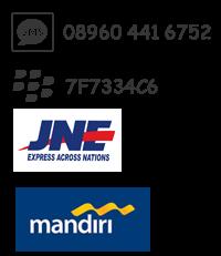 SMS: 08960-441-6752 • BBM: 7F7334C6