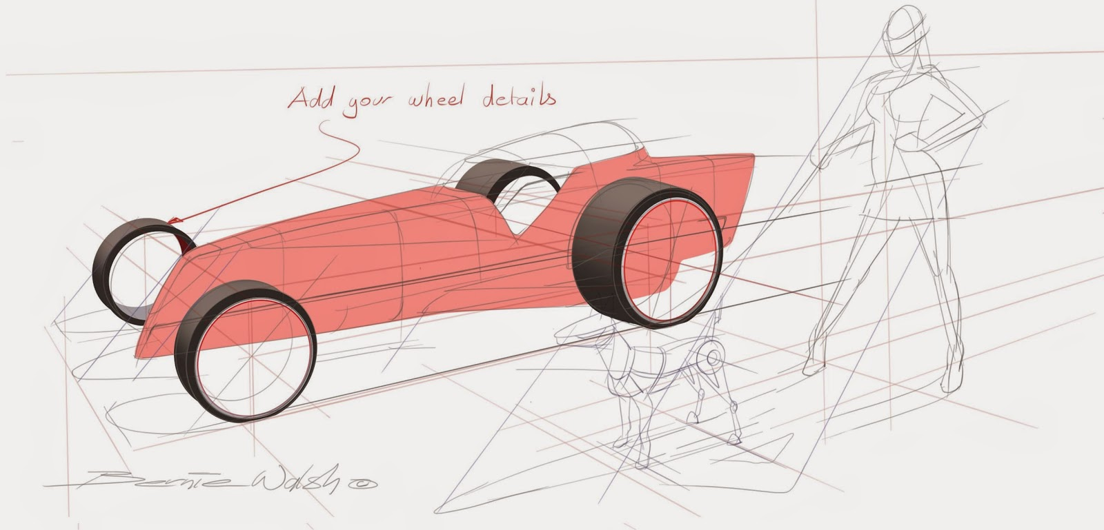 drawon: New Sketchbook pro 7 perspective tool speed sketch tutorial ...