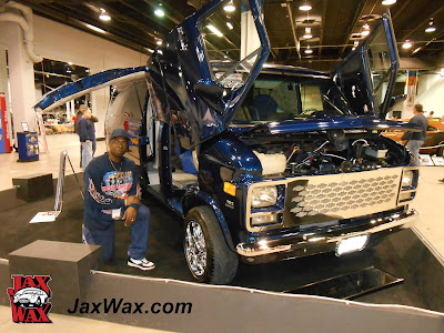 1995 Chevy Van Jax Wax Chicago World of Wheels