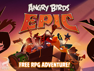 Free download official game Angry Bird Epic .APK Full Data Gold