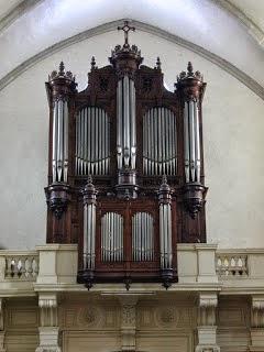 L'orgue de l'église N.Dame du lac à Lunel