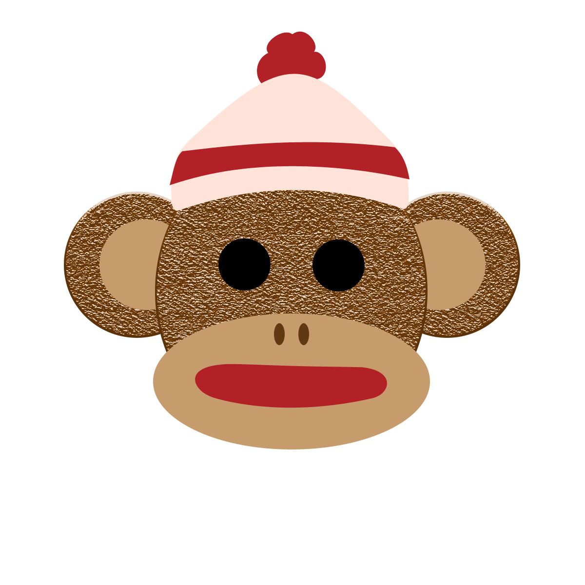 Printable Sock Monkey Clip Art For Free 101 Clip Art
