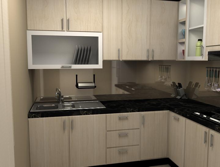 Vidyharyadi Konsep Minimalis Untuk Kitchen Set
