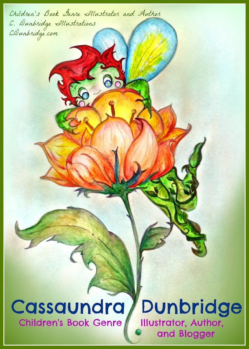 Children's Book Illustrator and Author- Cassaundra Dunbridge