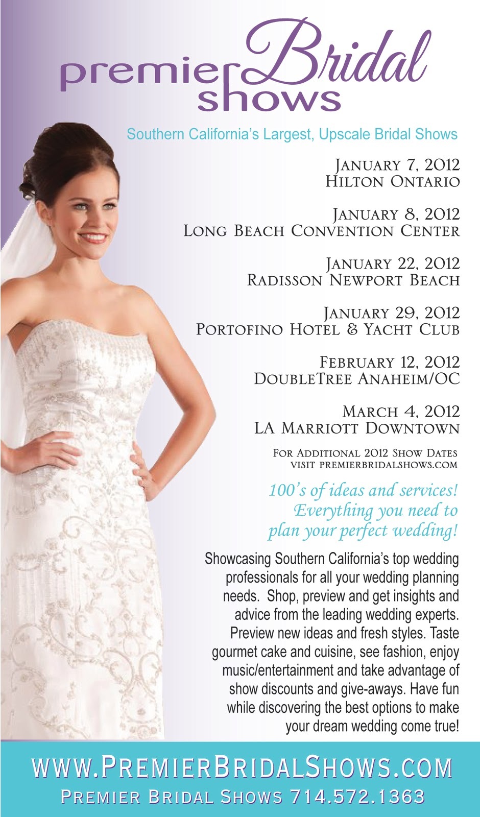 Orange County Bride Magazine: January 2012