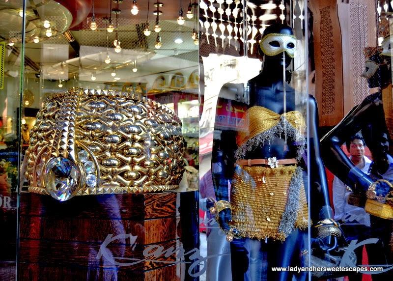 heaviest gold ring at Dubai Gold Souk