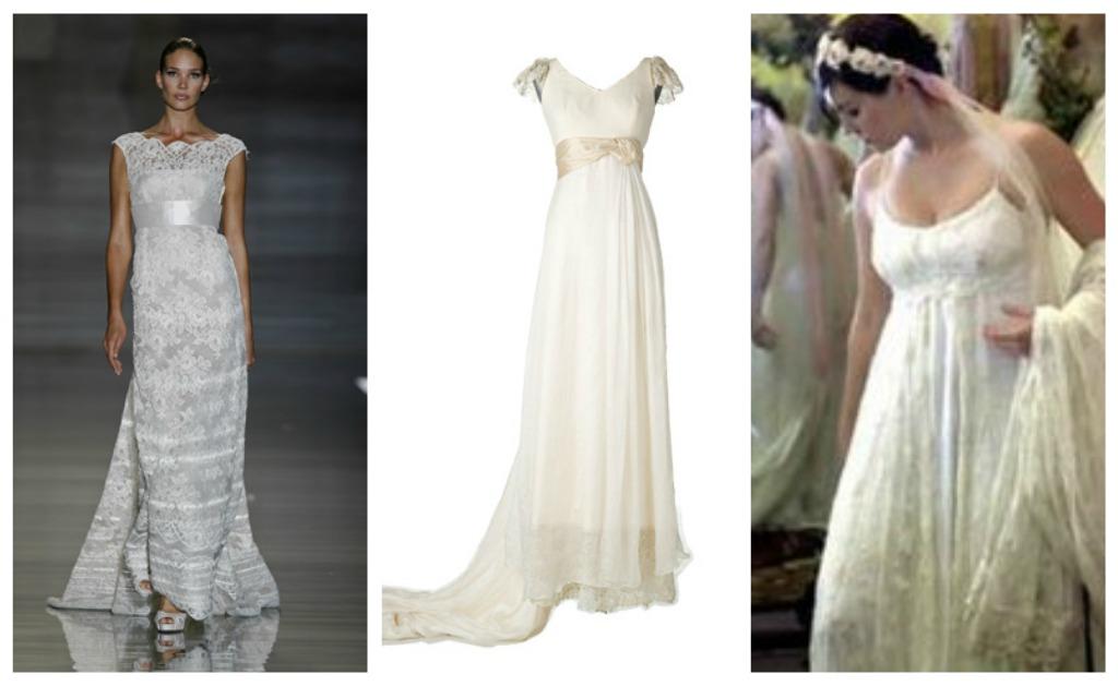 con tacones de cristal: vestidos de novia dÉcada a dÉcada