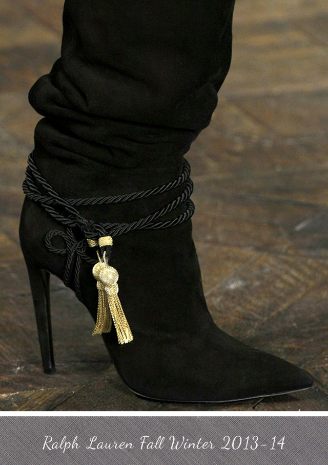 Ralph Lauren Boots from Fall Winter 2013-14