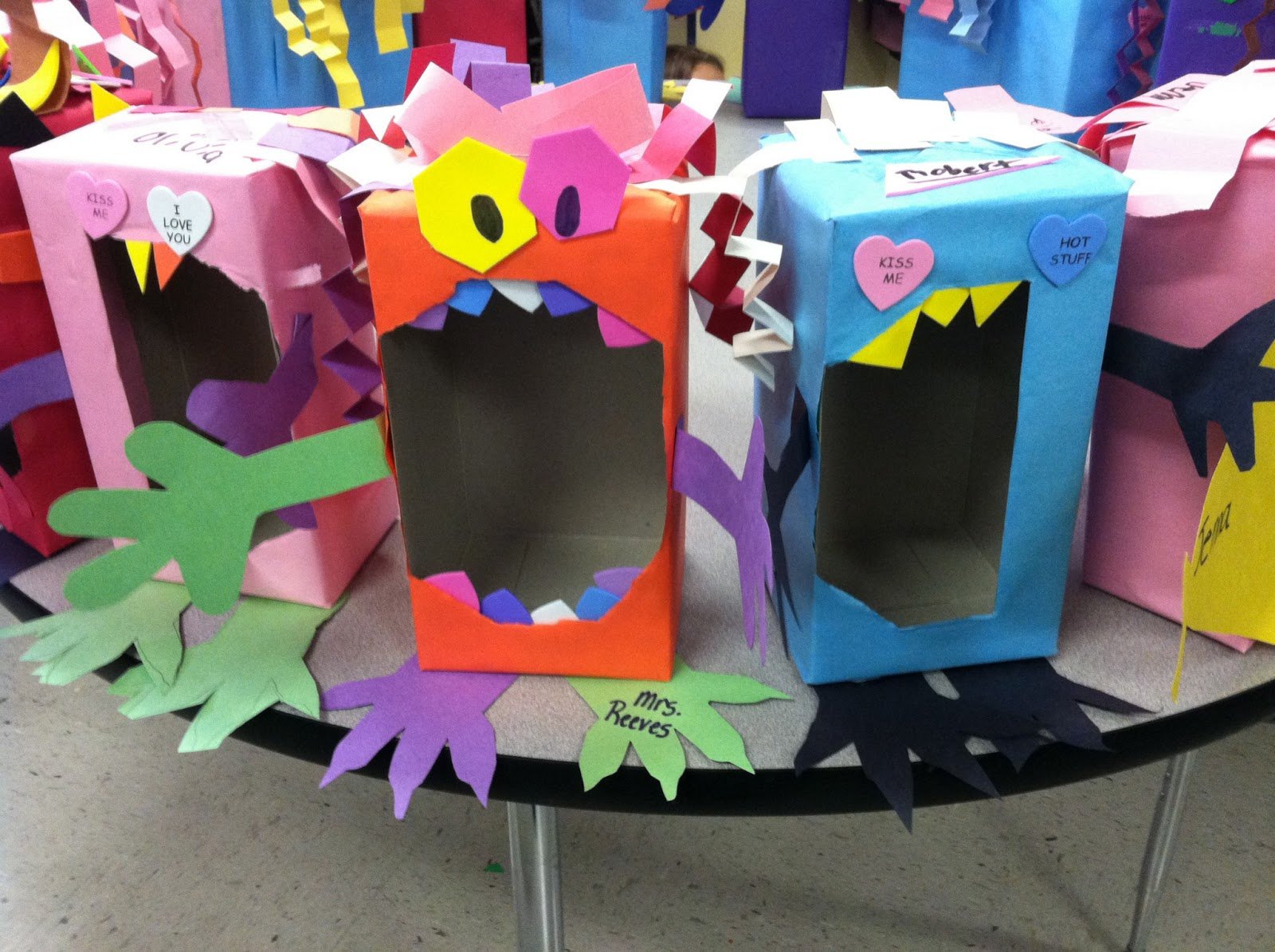 3rd grade adventures valentine boxes for Crafts for 3rd graders