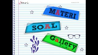 Materi, Soal, Galeri IPA SD