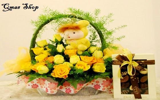 Mẫu hoa đẹp-Hoa hồng vàng