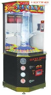 Lucky Zone redemption game machine