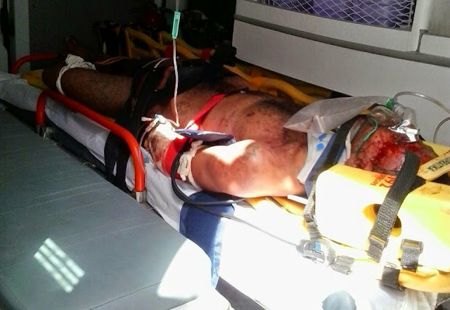 Bandido é espancado após invadir loja e atirar em dono