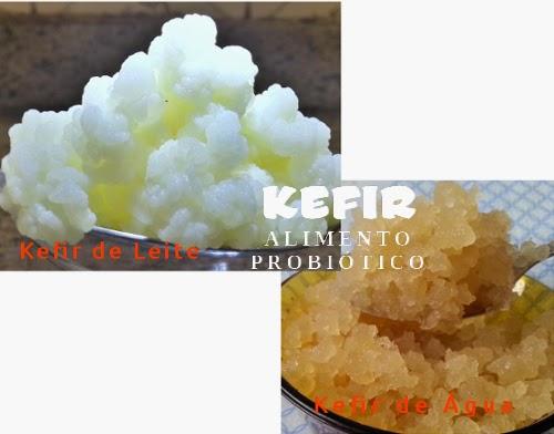 Kefir de leite e kefir de água (tibico)