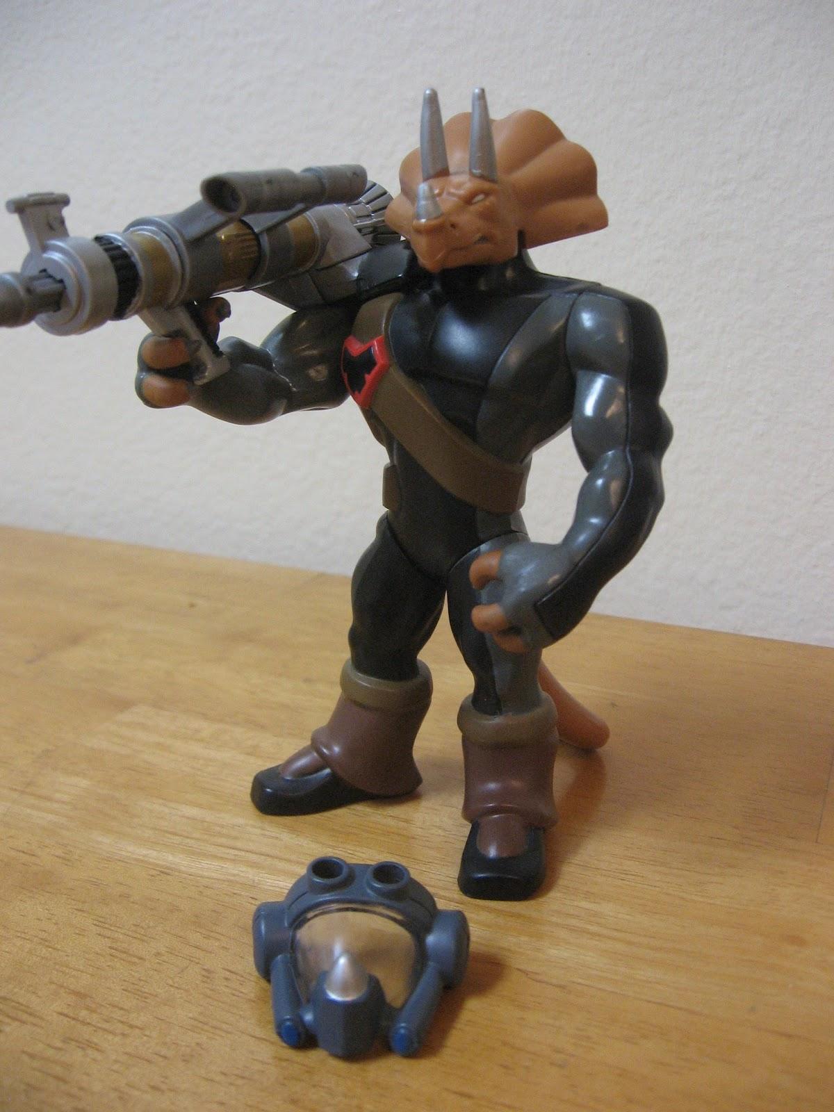 Teenage Mutant Ninja Turtles 2003 Toys : Why did i buy that toy triceraton warrior