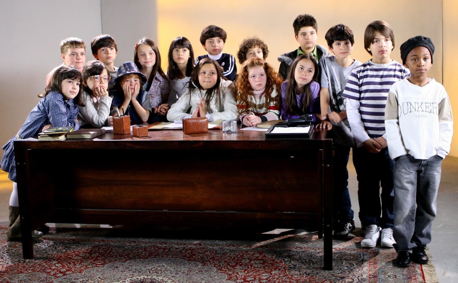 Já foi anunciado o elenco mirim para a produção nacional da novela ...