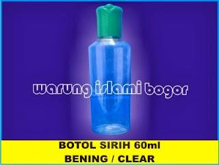 Jual Botol Plastik 60ml