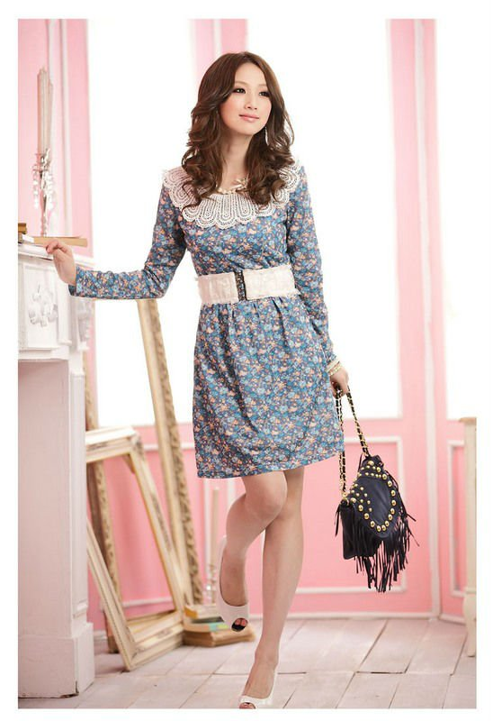 Winter casual dresses pictures
