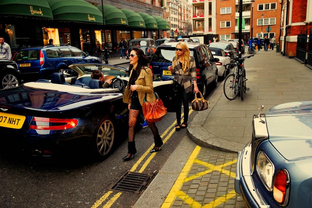 Wealthy Women Shopping