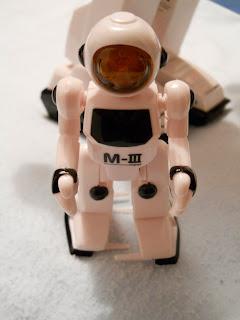 maqueta de minirobot