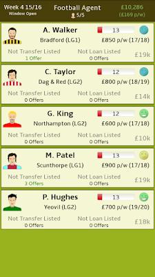 Football Agent v1.2 Apk