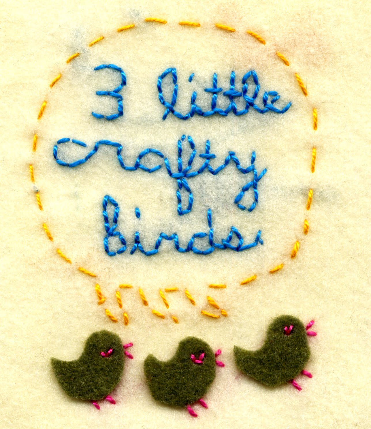 Three Lil' Crafty Birds